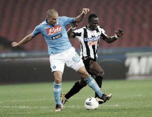Nápoles vs Udinese en vivo y en directo online