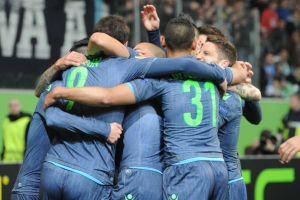 """Napoli travolgente. Benitez: """"Partita spettacolare"""". Hamsik: """"Prestazione fantastica"""""""