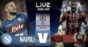 Diretta Napoli - Nizza, LIVE Play-off Champions League 2017-2018 (2-0) Mertens-Jorginho e il Napoli vola