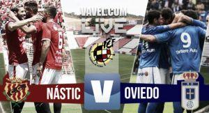 Resultado Gimnàstic de Tarragona - Real Oviedo en playoffs Segunda B 2015 (2-1)