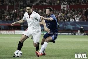 Samir Nasri, desaparecido en el juego del Sevilla