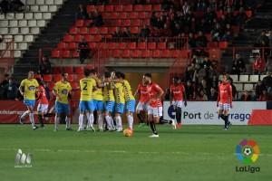 El Lugo aguantó el arreón final del Nàstic y se lleva los tres puntos del Nou Estadi