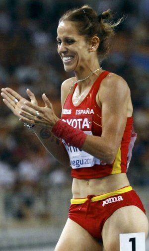 Natalia Rodríguez consigue un oro de Turín 2009