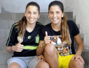 """Noelia y Natalia Ramos: """"Sabemos por dónde nos puede hacer daño la Real Sociedad"""""""