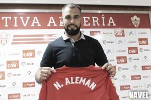 """Nauzet Alemán: """"Me quiero reivindicar en el fútbol español y esta es la mejor oportunidad"""""""