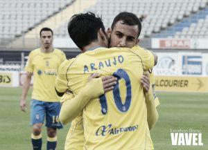 Las Palmas - Racing: puntuaciones de Las Palmas, jornada 25 de la Liga Adelante