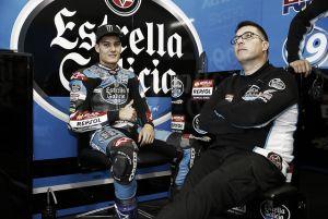 """Jorge Navarro: """"Tenemos buen ritmo y estoy cómodo en la moto"""""""