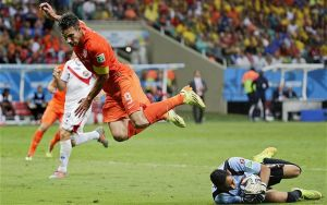 World Cup 2014: Netherlands 0-0 Costa Rica (4-3p)