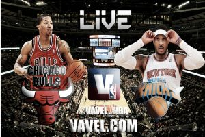 Chicago Bulls vs New York Knicks en vivo y en directo online