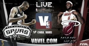 Live NBA Match 5 : Spurs San Antonio - Miami Heat en direct