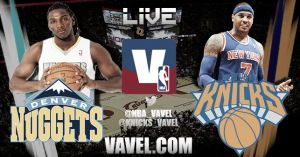 New York Knicks vs Denver Nuggets en vivo y en directo online