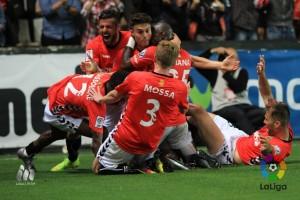 Un gol de José Naranjo obliga a creer al Nou Estadi