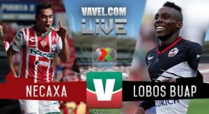 Resultado y goles del Necaxa 5-0 Lobos BUAP de la Liga MX 2017