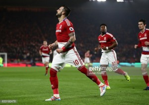 Middlesbrough 1-1 West Brom: Negredo penalty earns Boro ninth draw of the season