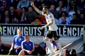 Valencia - Getafe: puntuaciones del Valencia, jornada 23 de Liga BBVA
