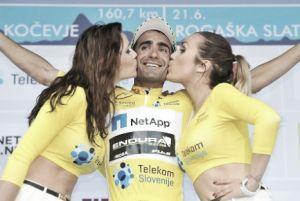Tiago Machado termina Volta à Eslovénia de amarela vestida