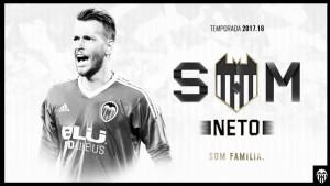 Neto, valencianista hasta 2021