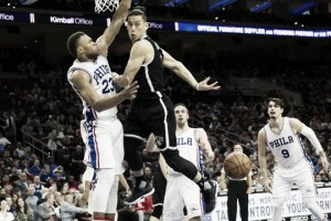 Brooklyn Nets obliterate depleted Philadelphia Sixers on record tying night