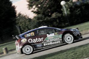 Neuville avanza hasta la primera posición en el Rally de Francia