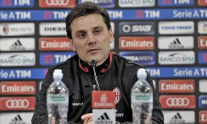 """Milan, Montella in conferenza: """"Vivo la partita come tutte le altre, con la serenità necessaria"""""""