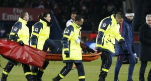إصابة قوية لنيمار في كلاسيكو فرنسا