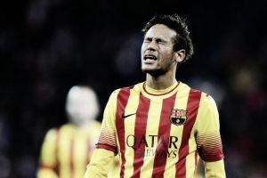 Neymar, en horas bajas