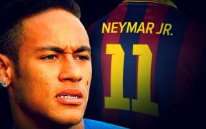 Lechia Gdansk-FC Barcelone : Vamos Neymar !