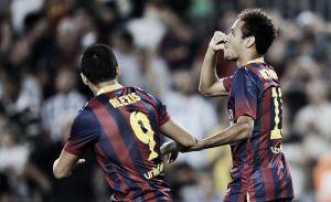 """Neymar: """"El equipo está mejor, vamos mejorando"""""""