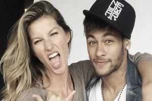 Neymar y Gisele Bündchen juntos para Vogue