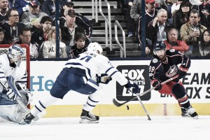 Toronto Maple Leafs defeat Columbus Blue Jackets, 5-2