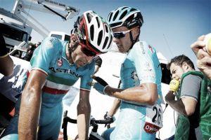 Astana perde líder: Vicenzo Nibali desclassificado da Vuelta ao segundo dia