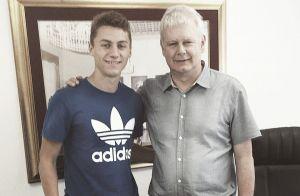 Nicholas Llanos firmó contrato con el Hajduk Split
