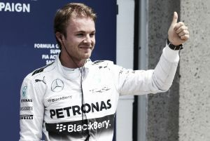 """Nico Rosberg: """"Estoy en la mejor posición para mañana"""""""