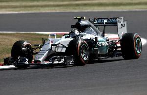 Nico Rosberg lidera en Silverstone