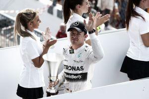 """Nico Rosberg: """"El ritmo de Hamilton forzó que cometiera el error"""""""