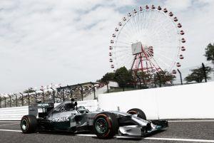 Nico Rosberg consigue la pole en Suzuka