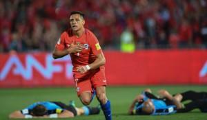 Qualificazioni Russia 2018, Sudamerica - Alexis Sanchez rialza il Cile: 3-1 all'Uruguay e quarto posto agganciato