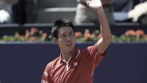 Kei Nishikori vence Martin Klizan com facilidade e vai à final em Barcelona