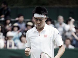 Nishikori sobrevive a Bolelli en su debut