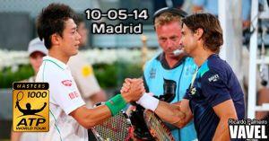 Nishikori - Ferrer: el golpe al topten