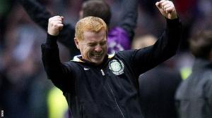 Neil Lennon Celebrates the Best Night of his Career