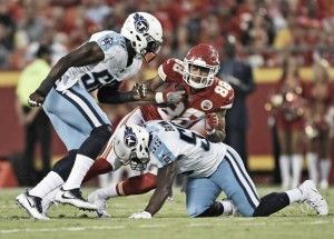 Resultado Kansas City Chiefs x Tennessee Titans pelos playoffs da NFL (21-22)