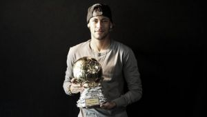 Neymar wins Samba Gold Trophy