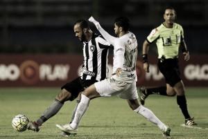 Com gol nos acréscimos, Botafogo encosta no G-6 e agrava situação do Figueirense