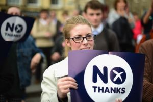 "East Lothian and Stirling say ""No"" in referendum"