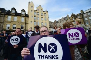 "Falkirk and Angus say ""No"" to Scottish independence"