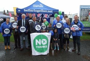"Aberdeenshire votes ""No"""