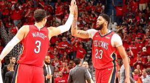 NBA - Mirotic e l'uragano Pelicans si abbattono ancora su Portland: 3-0 e serie in ghiaccio