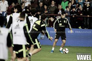 Nolito despunta en la victoria de España