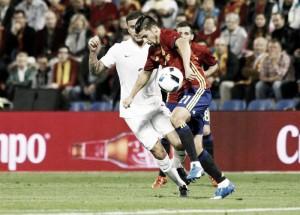 Nolito sigue haciendo méritos con 'la Roja'